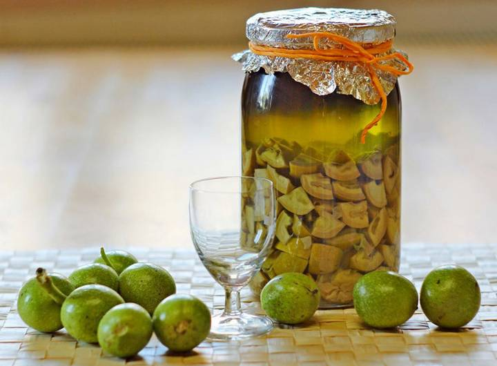 Рецепт настойка из зеленых грецких орехов от щитовидки