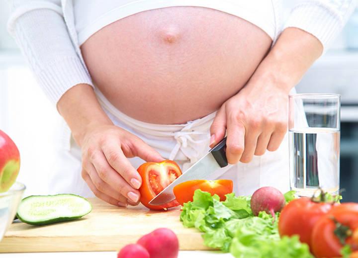 У беременной сахар 5.7