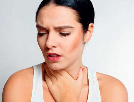 Свидетельствует ли першение в горле о заболеваниях щитовидки?