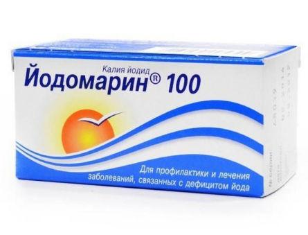 Как принимать Йодомарин при нарушении уровня ТТГ?