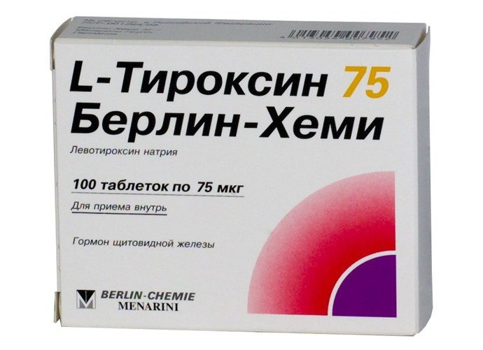 l-тироксин берлин хеми