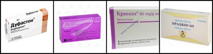 Препараты прогестина