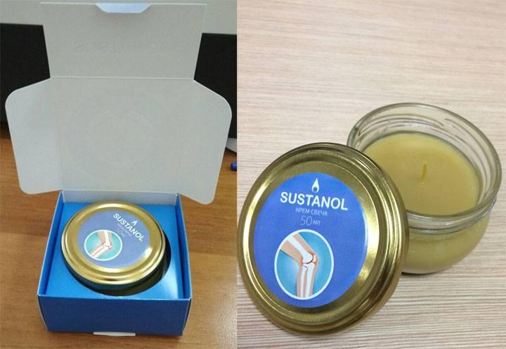 Sustanol - крем-свеча для суставов в Южно-Сахалинске