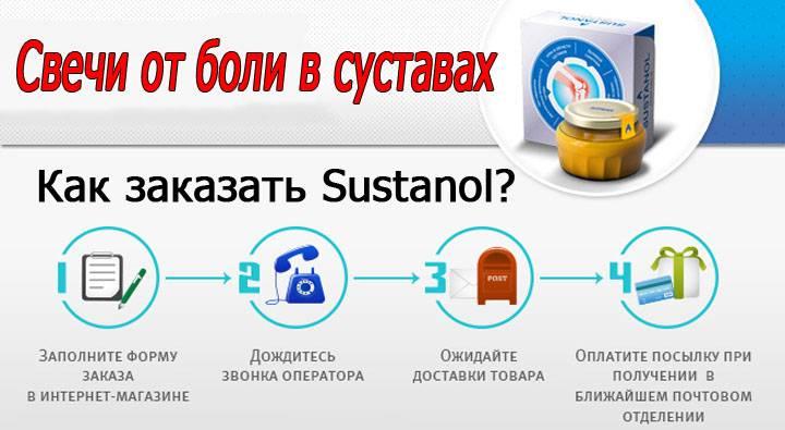 Как приобрести крем sustanol