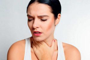 Симптомы боли в горле при щитовидке