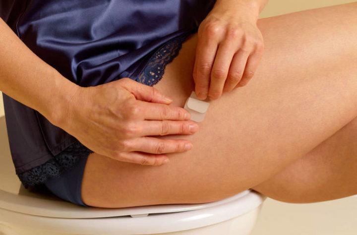 Куда можно клеить гормональный пластырь