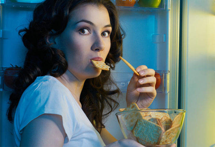 Гормон холецистокинин и жирная еда